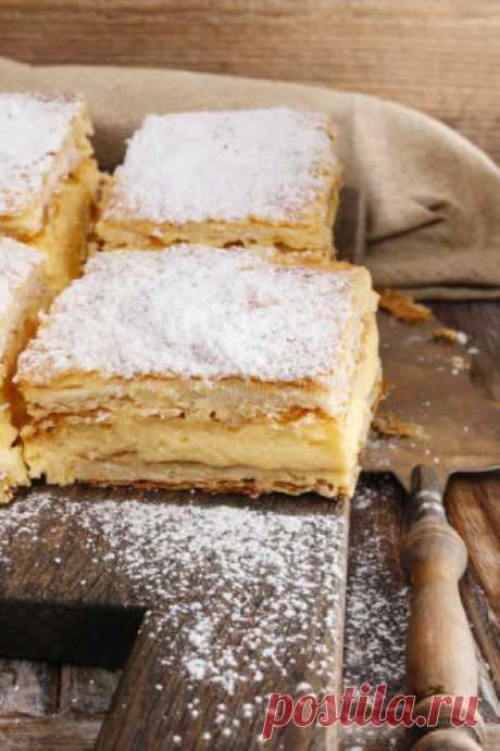Кремовый пирог с яблоками, которому нет равных