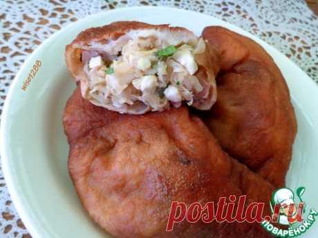 Жареные пирожки с капустой, яйцом, луком – кулинарный рецепт