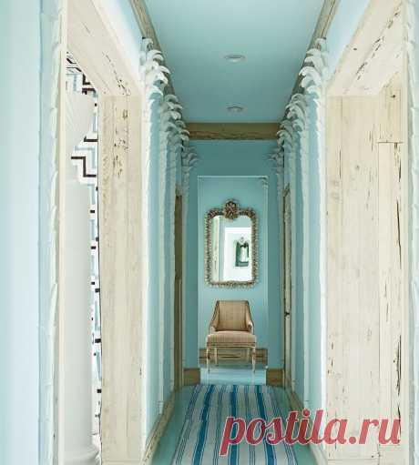 Оформление длинного узкого коридора | Роскошь и уют