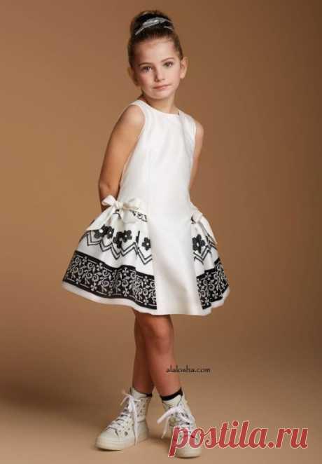 Нарядное платья для девочки. Выкройка на все размеры (Шитье и крой) — Журнал Вдохновение Рукодельницы