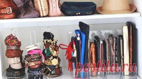 12 идей для организации гардеробной - Дом Mail.ru