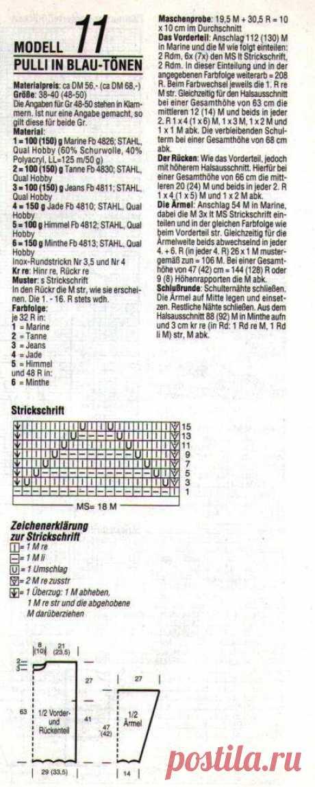 15 пуловеров аранами из немецкого журнала   CatDogSweatr   Яндекс Дзен