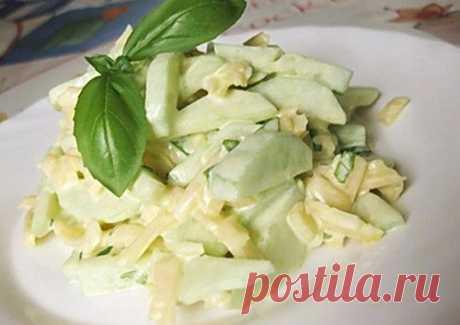 Сытный, но легкий салатик! Подойдет на обед и ужин — Мегаздоров