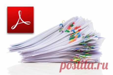 Selection of fast decisions on work with documents PDFs for all occasions - Layfkhaker