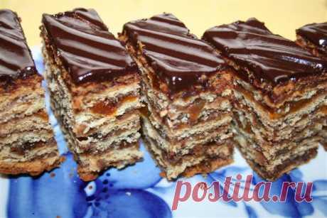 Венгерский торт «ЖЕРБО»