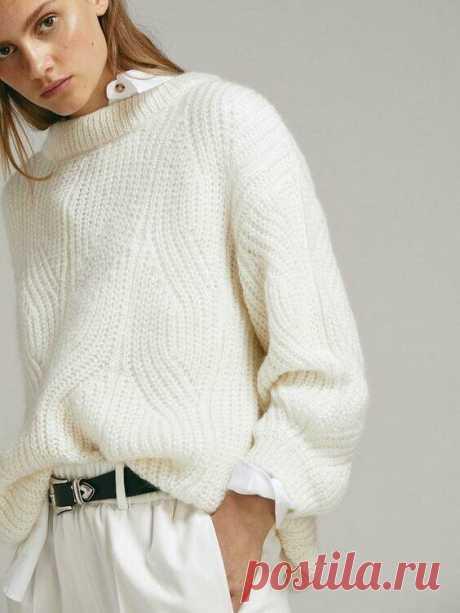 Сто причин связать свитер бриошь этим летом. | О чем думают вязальщицы | Яндекс Дзен