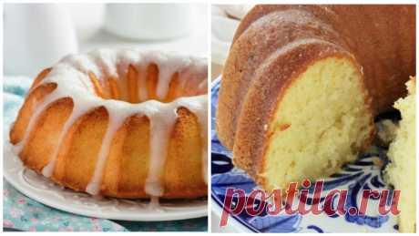 Пружинистый и мягкий! Как испечь итальянский пирог «Двенадцать ложек»