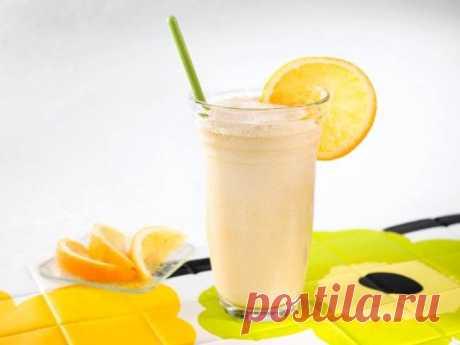 Кефирно-апельсиновый супер коктейль для сжигания жира | Диеты со всего света