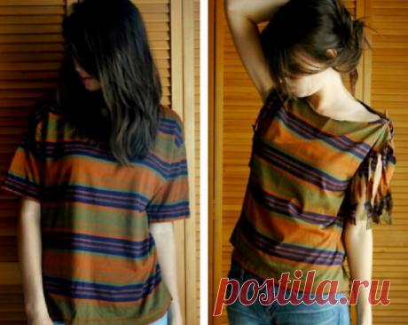 Переделка одежды из старой в стильную своими руками: идеи, выкройки, фото до и после
