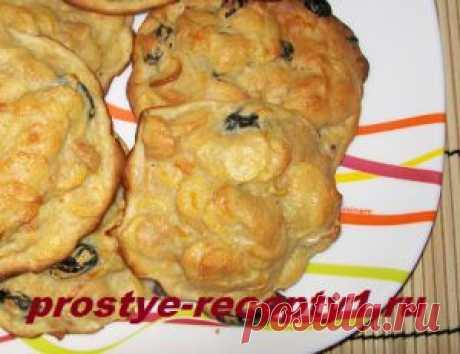Печенье из кукурузных хлопьев, пошаговый рецепт с фото | Простые рецепты