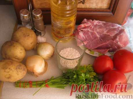 Recipe: Kharcho pork soup on RussianFood.com