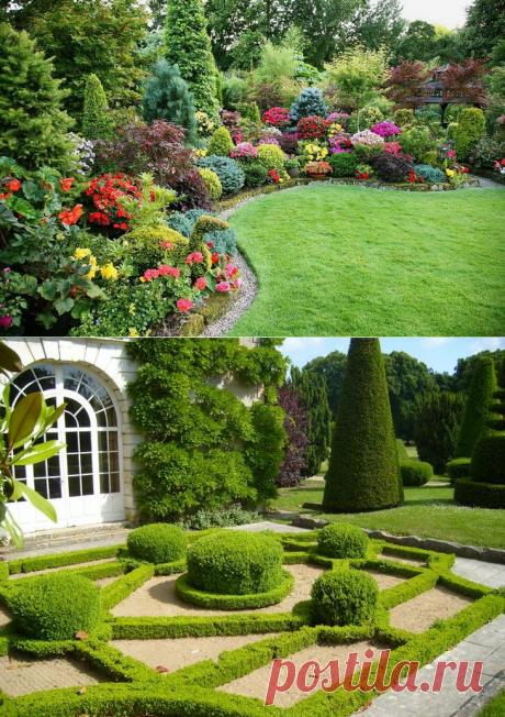Los estilos en el diseño de paisaje