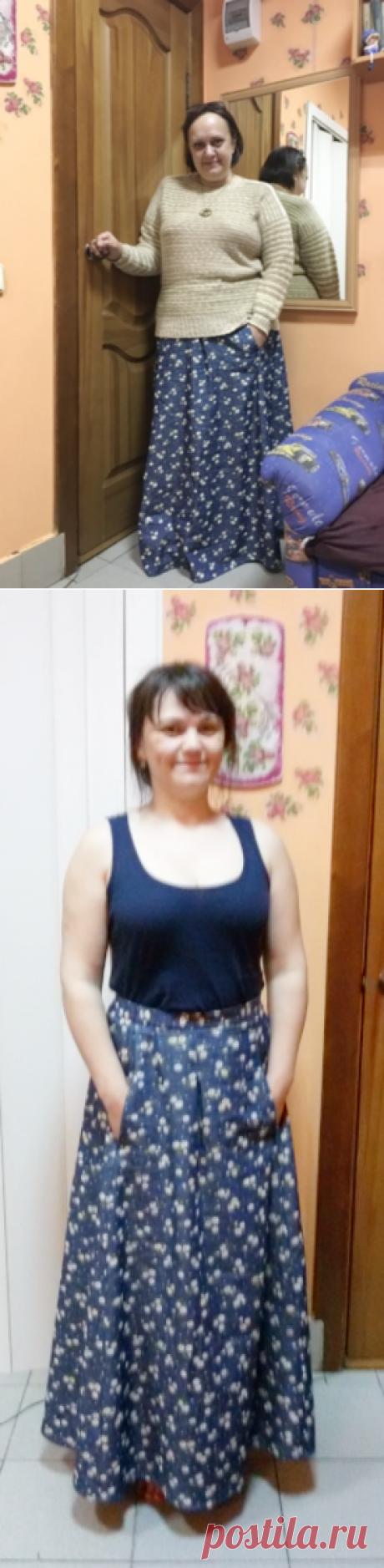 Юбочка для любой фигуры и возраста))) Шьем сам