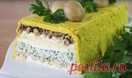 Красивый праздничный салат - лучший сайт кулинарии