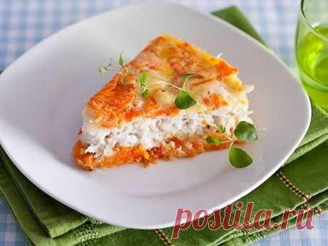 Fish baked pudding
