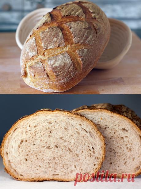 Крестьянский хлеб (на закваске). - ХЛЕБ & ХЛЕБ