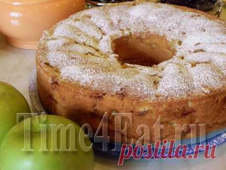 Яблочная шарлотка | Пора перекусить!