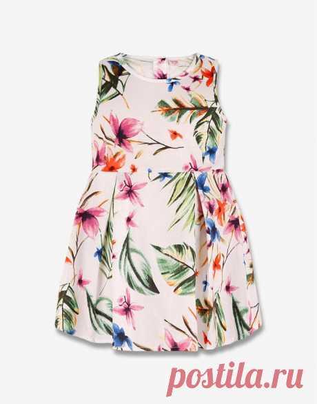 Платье с цветочным принтом - Глория Джинс, GDR006338 | Gloria Jeans