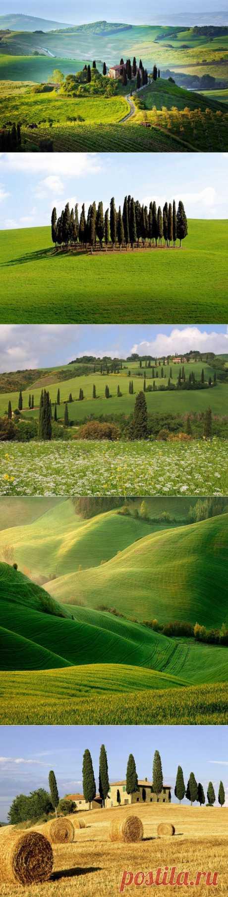 Landscapes of Tuscany, Italy (24 photos)
