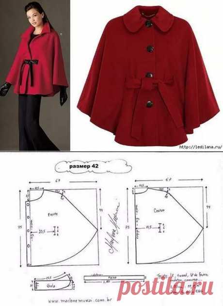 Пончо: идеи, советы и мастер класс своими руками - Подружки - медиаплатформа МирТесен Пончо — один из самых простых вариантов верхней одежды. Но даже у него хватает разнообразных вариаций фасонов и возможных для использования материалов.