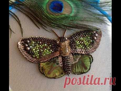 Вышиваем бисером бабочку-мастер Людмила на ЯМ