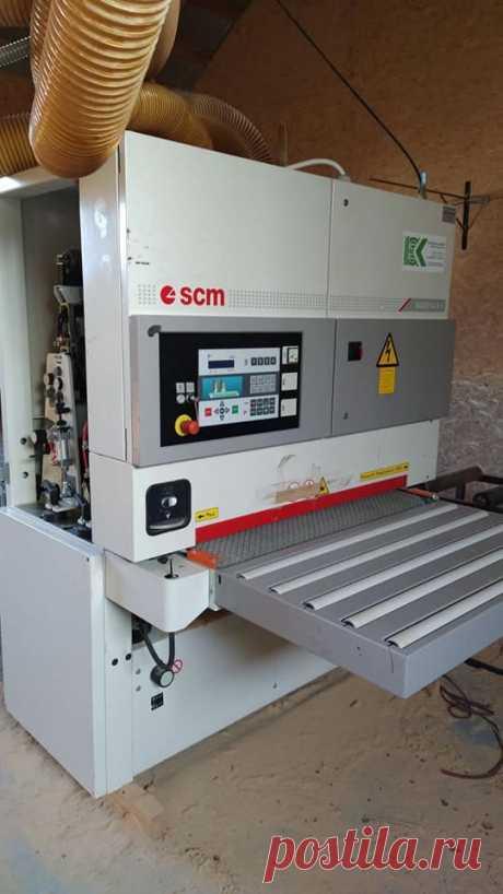 Продам калибровально -шлифовальный станок scm sandya 5s - Деревообробне обладнання винница на board.if.ua код оголошення 52924