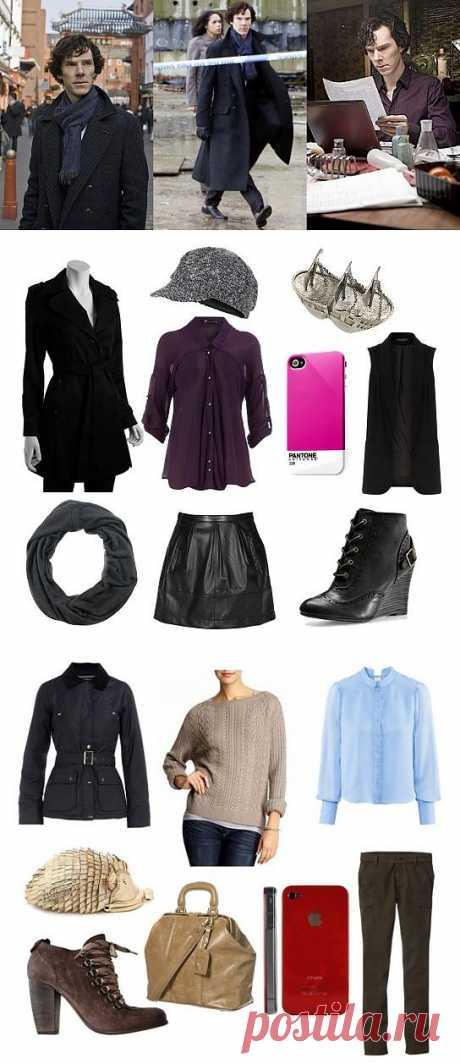 Вдохновленная сериалами-1 (Шерлок) / Ваш стиль / Модный сайт о стильной переделке одежды и интерьера