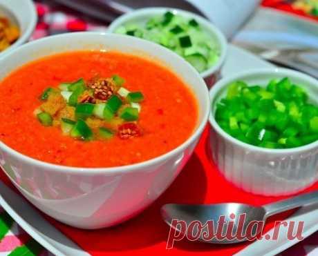 Гаспачо - суп из томатов