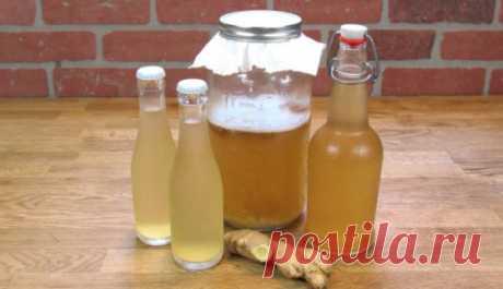 Имбирная вода: самый здоровый напиток, чтобы сжечь весь жир из талии, спины и бедер! Похудеете и оздоровите весь организм!