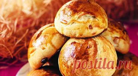 Советские калорийные булочки, пошаговый рецепт с фото