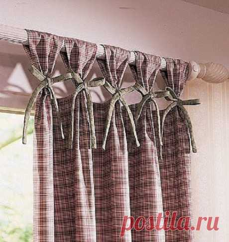 Как повесить шторы красиво | Делимся советами