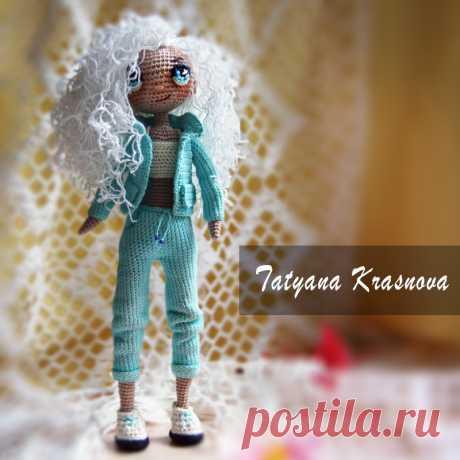 кукла 🌺 Мила 🌺 👫 рост 20 см ✅ каркасная голова, ручки, ножки двигаются ✅ стоит самостоятельно, но неуверенно )