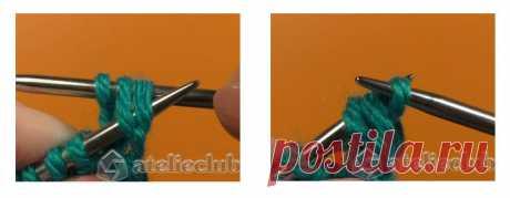 Как закрыть петли резинки 1х1 – эластичный способ ровный край