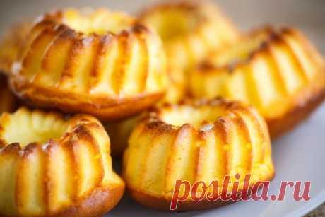 Кулинария>Самые вкусные творожные кексы