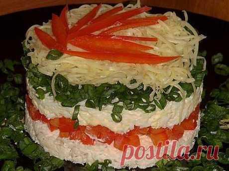 Праздничный салат «калейдоскоп» - красивый и очень вкусный салатик.Рецепт ➨ https://www.odnoklassniki.ru/group/51789493502107