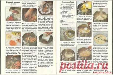 Las sopas clásicas y las colaciones 6-11 str - el Mundo de los libros culinarios y las revistas. - el país de las Mamás