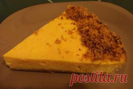 Тыквенный чизкейк рецепт – американская кухня, детское меню: выпечка и десерты. «Еда»