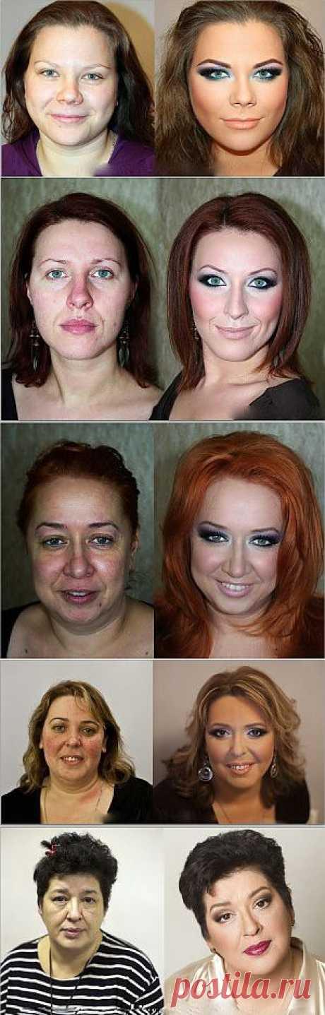 Как правильно использовать возможности макияжа| Женская мудрость