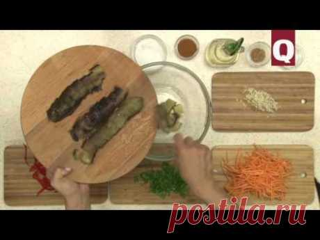 Готовим патыльджан салатасы(баклажаны)