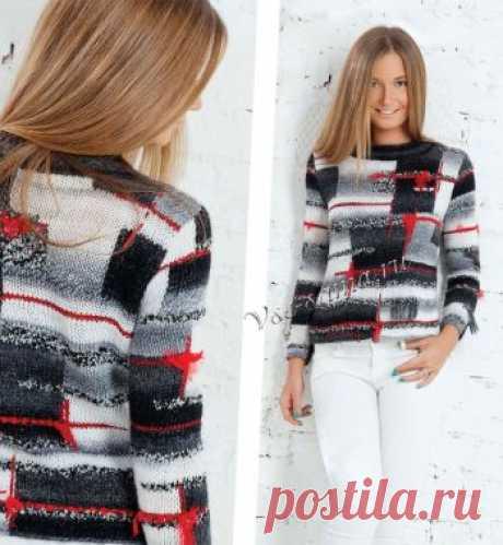 El pulóver pechvork - los Pulóvers, el jersey