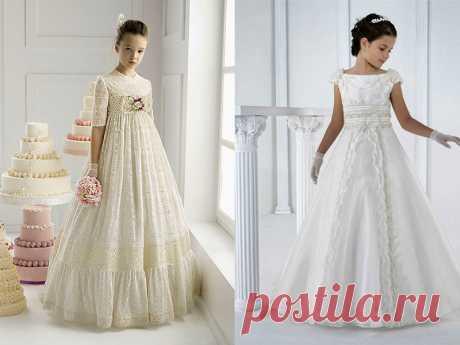Выбираем бальные платья для девочек: фасон, цвет, материал