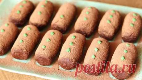 """Пирожное """"Картошка"""" - быстрый и вкусный десерт без выпечки! Идеально к чаю"""