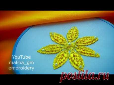 Lace Romanian *new design flower's petal *Amazing work #malina_gm