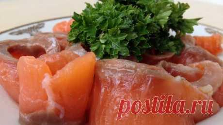 Как вкусно солить красную рыбу Это самый простой и самый вкусный способ засолки красной рыбки