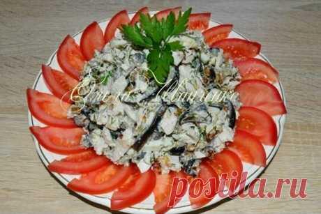 Салат с баклажанами *Лилек*