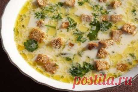 Как приготовить лёгкий, тёплый, нежный суп в холодные осенние дни - рецепт, ингредиенты и фотографии