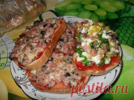 Как приготовить очень вкусные и сытные бутерброды для завтрака и ужина! - рецепт, ингридиенты и фотографии