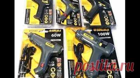 Невероятные возможности профессионального клеевого пистолета Proskit GK - 389H тест на качество - YouTube
