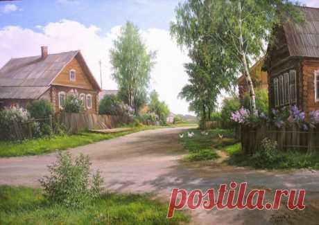 Картины Вячеслава Палачева от которых щемит сердце