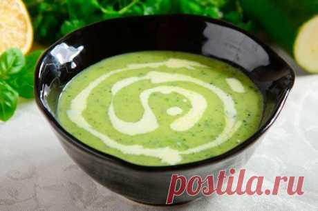 Вкусный суп пюре из кабачков со сливками – пошаговый рецепт с фото.